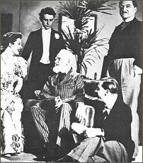 Greer Garson, Derek Evans, G.B. Shaw, G.M. O'Ferrall and D.A. Clark-Smith.