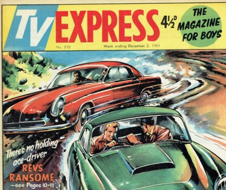 Revs Ransome in TV Express