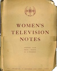 Women's TV Notes